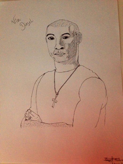 Vin Diesel by Margalith